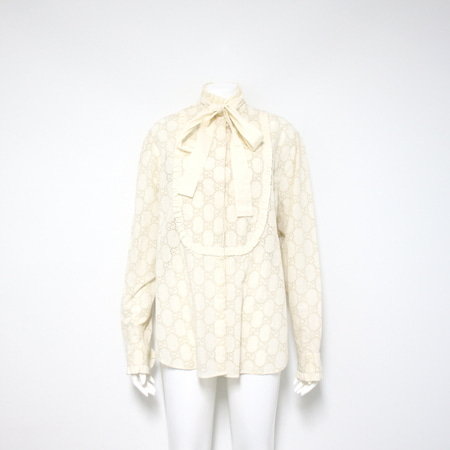 Gucci(구찌) 569104 GG broderie-anglaise cotton-blend 셔츠aa09995